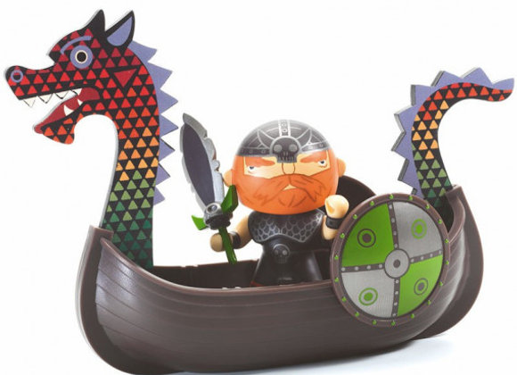 Drack le pirate et son drakkar Arty Toys - DJECO