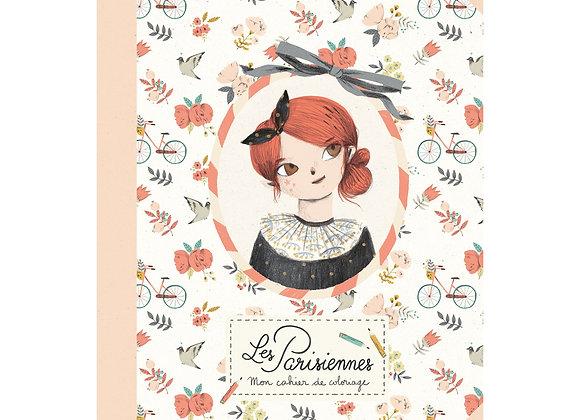 Cahier de coloriage Les Parisiennes - MOULIN ROTY