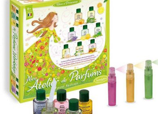 Mon atelier de parfums Fleurs fraîches - SENTOSPHERE