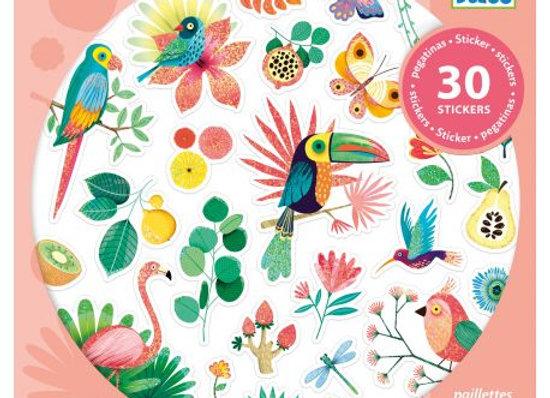 30 Stickers Paradise - DJECO