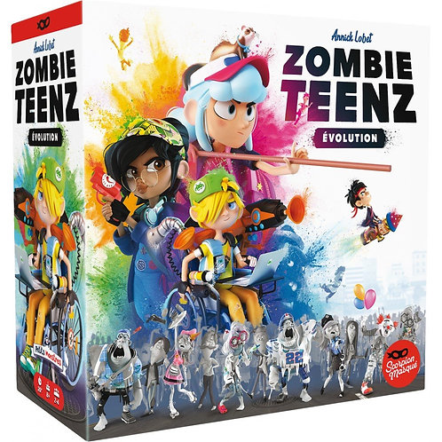 Zombie Teenz Evolution - ASMODEE