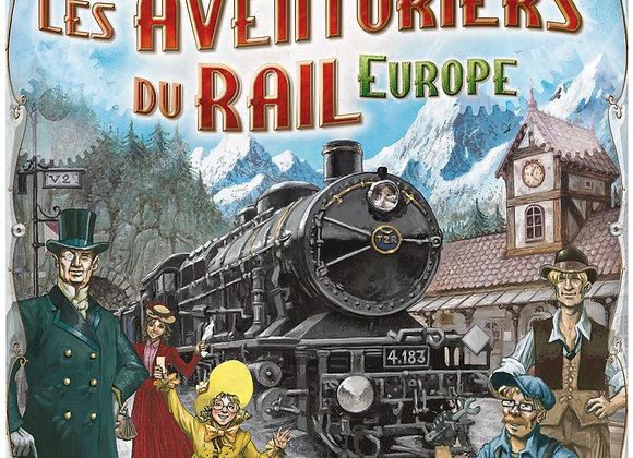 Aventuriers du rail Europe : Premier voyage – ASMODEE