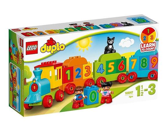 Train des chiffres Duplo - LEGO