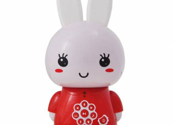 Veilleuse MP3 Bunny rouge - ALILO