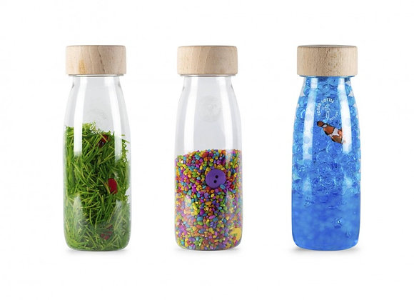 Pack de 3 bouteilles sensorielles - PETIT BOUM