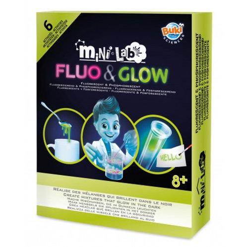 Mini Laboratoire Fluo & Glow - BUKI