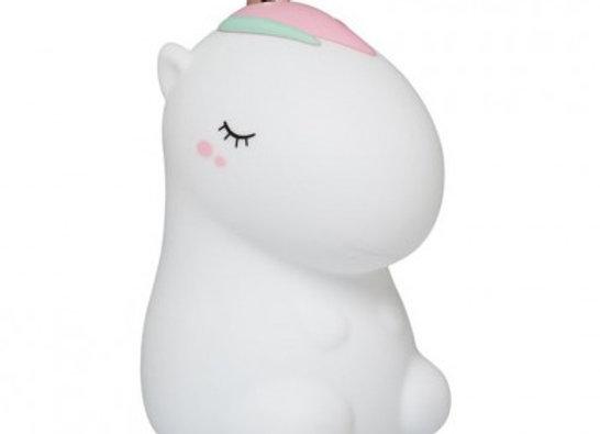 Veilleuse Licorne Cosmo blanche Lil'Unicorn  - ALILO