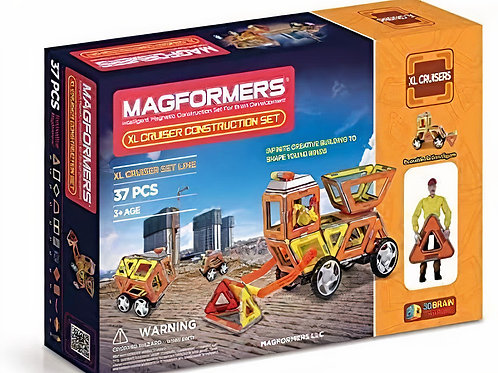 Jeu de Construction Magnétique XL Cruiser - MAGFORMERS