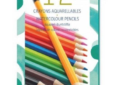 12 crayons aquarellables - DJECO