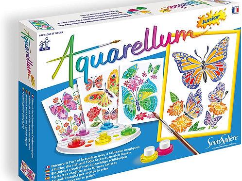 Aquarellum Jr Papillons - SENTOSPHERE