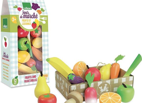 Jour de marché Fruits et légumes - VILAC