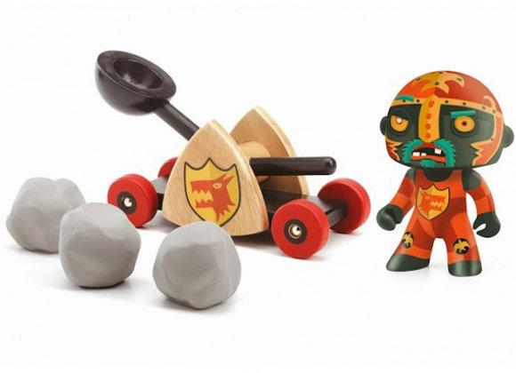 Pirates Baldy & Big Paf Arty Toys - DJECO