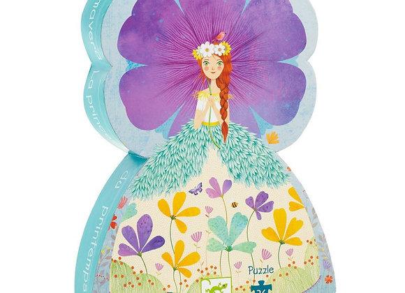 Puzzle 36 pièces La princesse du printemps – DJECO