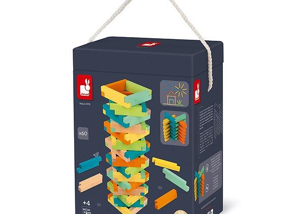 Set de construction 60 pièces - JANOD