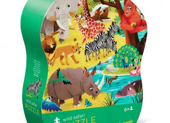 Puzzle 72 pièces Grand Safari - CROCODILE CREEK