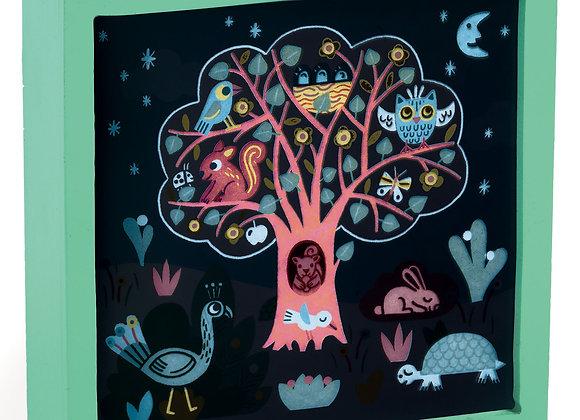 Veilleuse magique l'arbre enchanté - DJECO