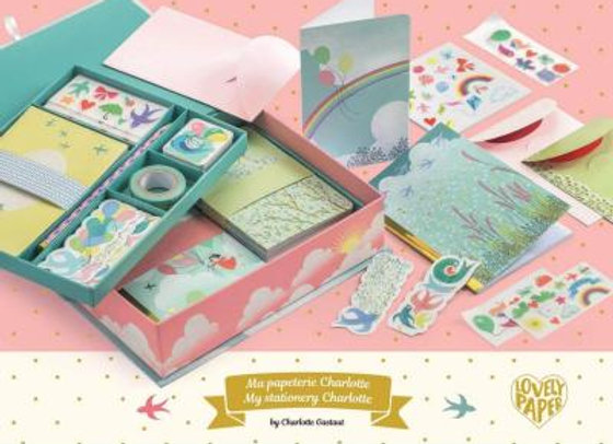 Ma papeterie Charlotte Lovely Paper- DJECO