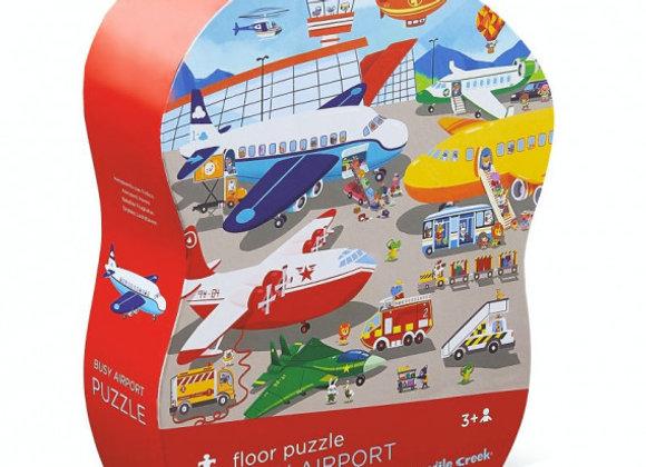 Puzzle 36 pièces Aéroport - CROCODILE CREEK
