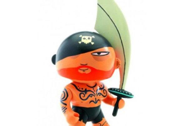 Figurine Pirate Tatoo arty toys - DJECO