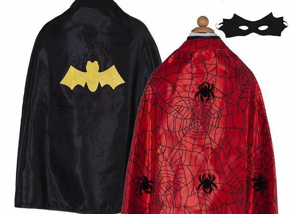 Cape réversible Spiderman-Batman 4/6 ans - GREAT PRETENDERS