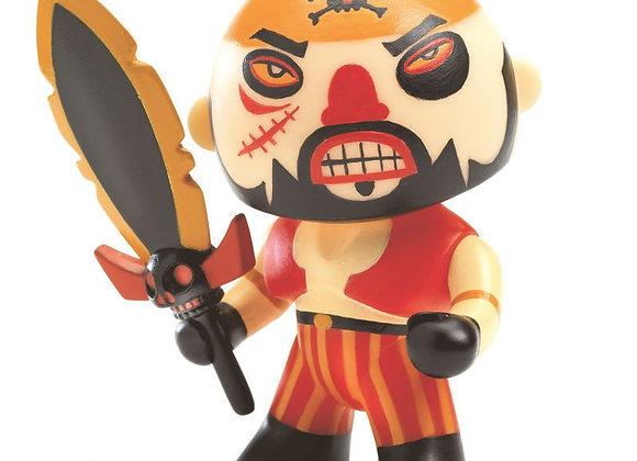 Figurine Pirate Soscar Arty Toys - DJECO