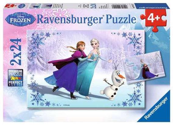 Puzzle La Reine des Neige Soeurs toujours 2x24  pièces - RAVENSBURGER