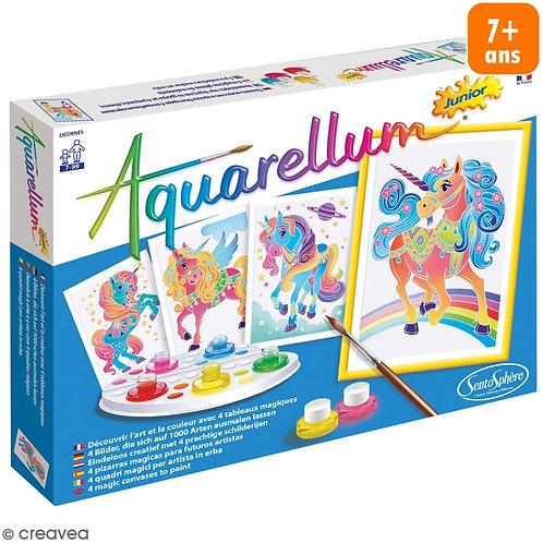 Aquarellum Jr Licornes - SENTOSPHERE