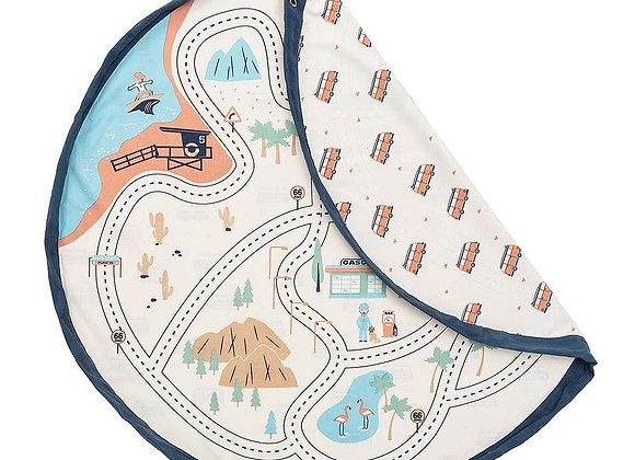 Sac de rangement & tapis LA Roadmap
