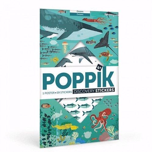 Mon poster découverte en stickers Forêt – POPPIK