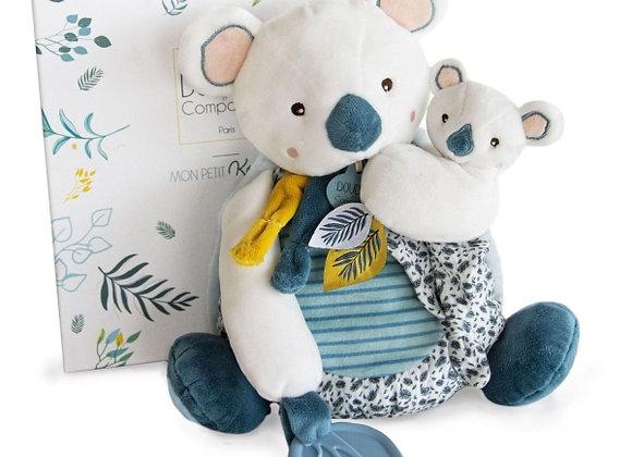 Yoca le Koala Pantin d'activité - DOUDOU ET COMPAGNIE