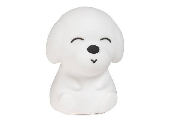 Veilleuse Chien blanche Lil' Dog - ALILO