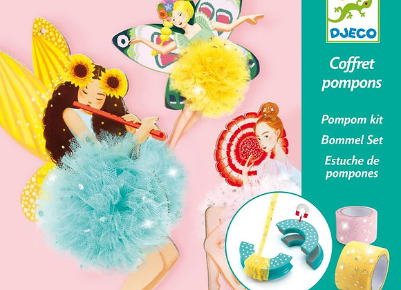Coffret Pompons fées - DJECO