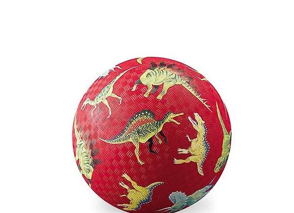 Balle rouge Dinosaure  18 cm - CROCODILE  CREEK