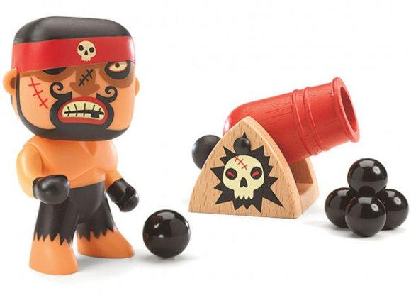 Figurine Pirate Ric et Boumcrack arty toys - DJECO