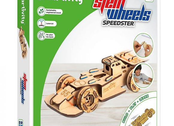 Voiture de construction Stem Wheels Speedster - SMARTIVITY