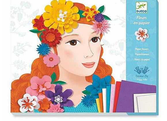 Set créatif Jeunes filles en fleurs - DJECO