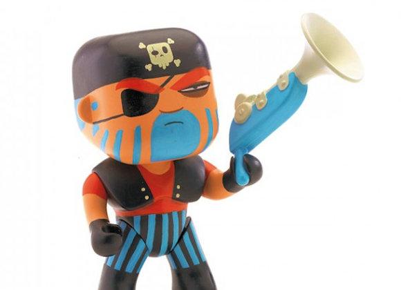 Figurine pirate Jack Skull Arty Toys - DJECO