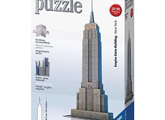 Puzzle 3D 216 pièces Empire State Building - RAVENSBURGER