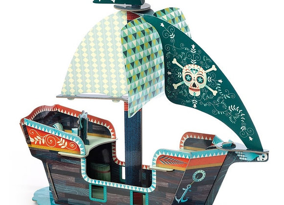 Pop to play bateau Pirate - DJECO