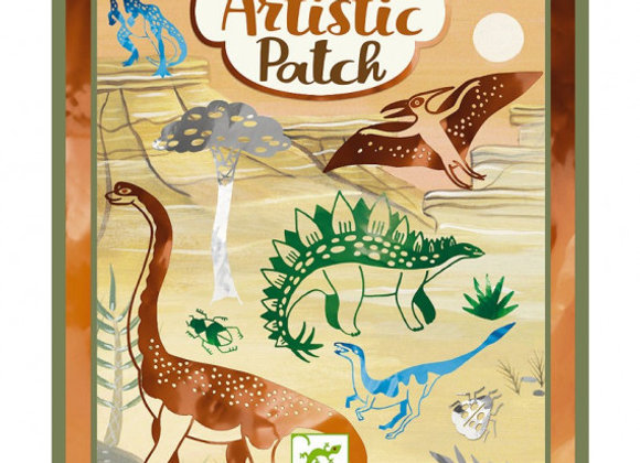 Dinosaures Artistic patch Metal - DJECO
