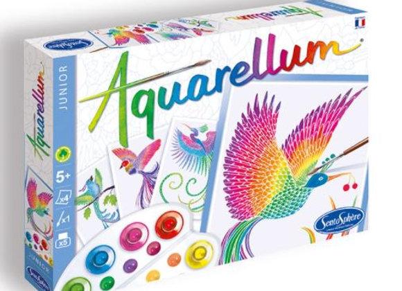Aquarellum Junior Oiseaux de Paradis - SENTOSPHERE