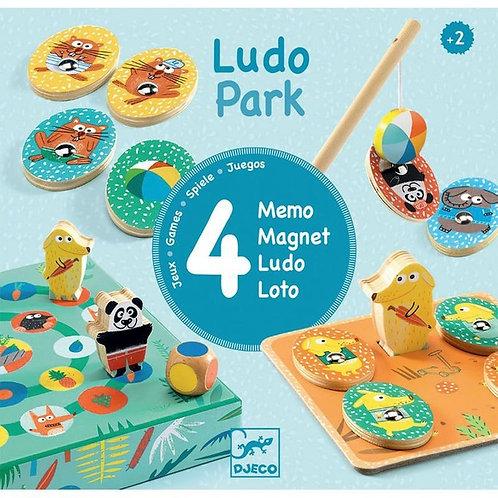 Ludopark Premier Apprentissage Set de 4 jeux - DJECO