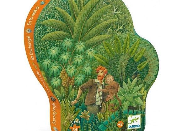 Puzzle 54 pièces  Dans la jungle - JUNGLE