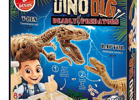 Kit de fouille deux dinosaures - BUKI