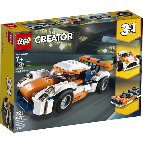 Voiture de course Créator 3 en 1 - LEGO