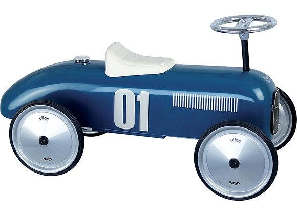 Porteur voiture bleu pétrole - VILAC