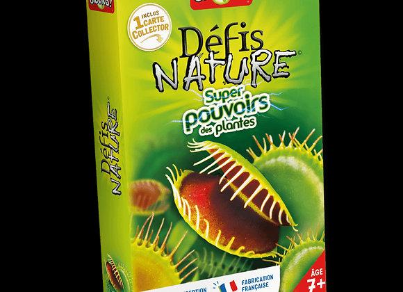 Défis Nature Super pouvoirs de plantes - BIOVIVA!