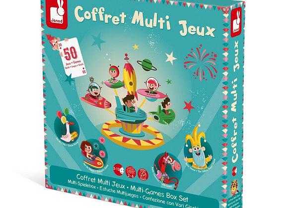 Coffret multi-jeux Carroussel – JANOD