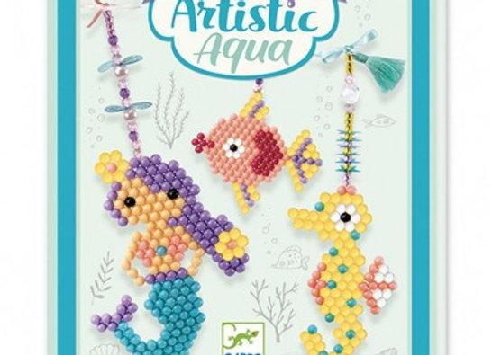 Collage à l'eau Marins Artistic Aqua - DJECO