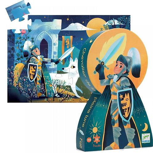 Puzzle 36 pièces Le chevalier de la pleine lune – DJECO
